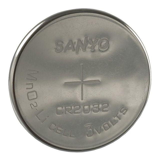 CR 2032 lithium mincová baterie sanyo