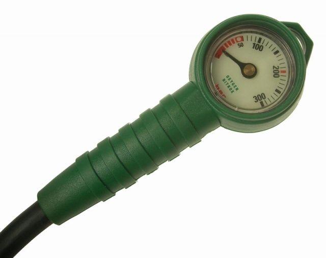 MINI SCUBA tlakoměr pro Nitrox/Oxygen 300bar NTEC
