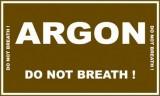 Zobrazit detail - Samolepka ARGON 300x120mm