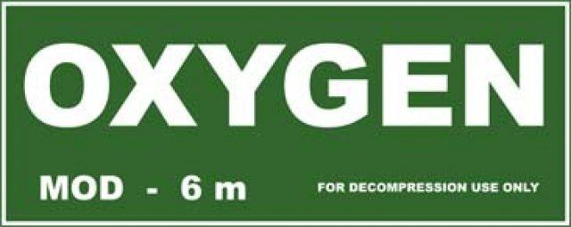 Samolepka OXYGEN 300x120mm mdc