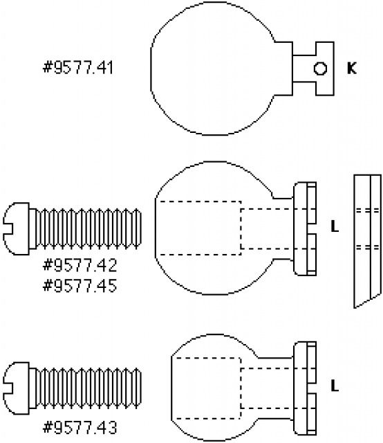 Kulička 3.2cm - ukončení DS200 IKELITE