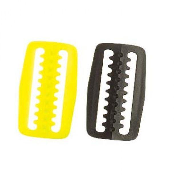 Stopka plast černá na popruh 50mm NTEC