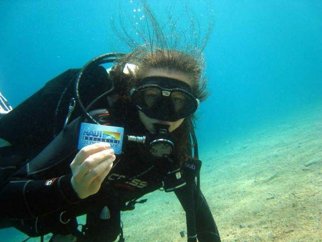 Kurz potápění NAUI SCUBA DIVER