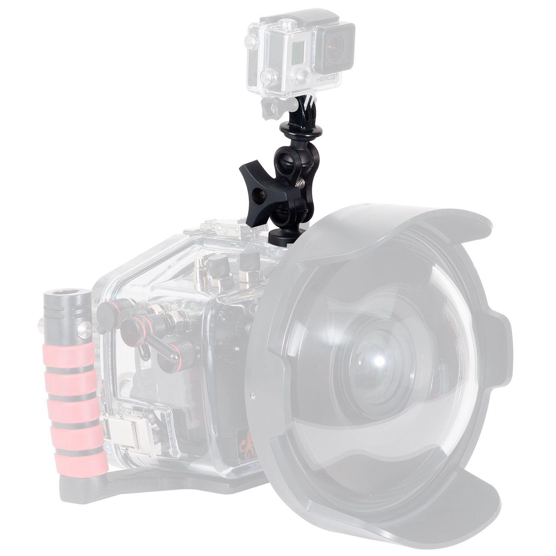 Montážní sada pro připojení GoPro kamery na podvodní pouzdro IKELITE